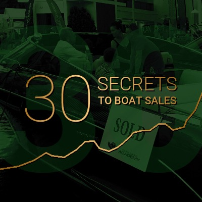30 Secrets to Boat Sales